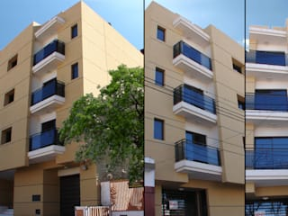 Edificio Residencial: Casas de estilo  por Estudio Bono-Sanmartino