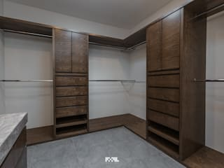 Closets de estilo  por 2M Arquitectura,