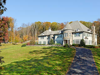French Country Home, Katonah, NY: country Houses by DeMotte Architects, P.C.