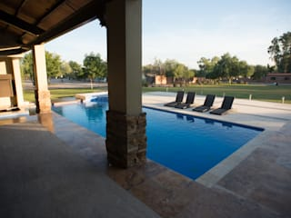 HACIENDA SAN PEDRO Modern Pool by TAMEN arquitectura Modern