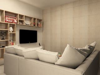 Modern living room by TAMEN arquitectura Modern