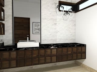 BV Modern Bathroom by TAMEN arquitectura Modern