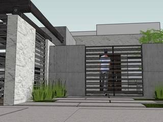 casa Nueva: Casas de estilo minimalista por MARCELA MORA; Arquitectura e Interiores