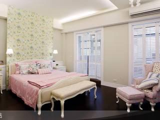 غرفة نوم تنفيذ iDiD點一點設計,