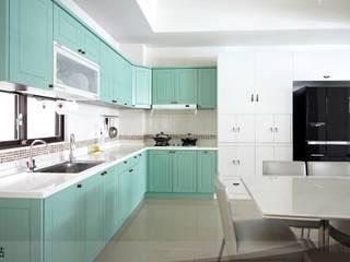 天韻室內設計:  廚房 by iDiD點一點設計