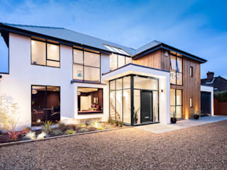OATLANDS DRIVE Concept Eight Architects Casas modernas