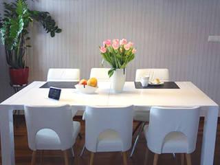 Scandinavian style dining room by RED design Scandinavian