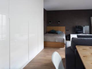 Kraupe Studio Minimalist bedroom