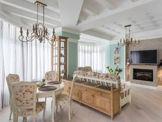 Salas de estilo rural de Строительная компания Конструктив Крым Rural