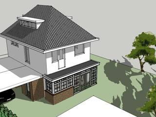 Uitbreiding keuken en bijkeuken: klasieke Huizen door De E-novatiewinkel