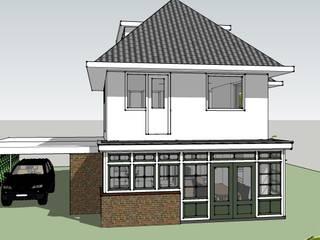 Aanbouw en carport: klasieke Huizen door De E-novatiewinkel
