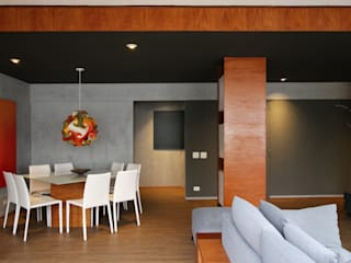 Ruang Keluarga oleh ROBERTO SPINA ARQUITETOS ASSOCIADOS, Minimalis