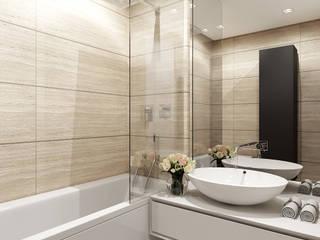 Modern bathroom by Kerimov Architects Modern