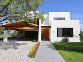Modern houses by Arquitectura MAS Modern
