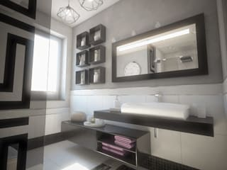 Modern style bathrooms by Ivan Rivoltella Modern