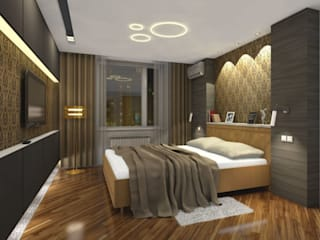 Проект Спальня в стиле минимализм от Куличков Владимир. Архитектура. Дизайн интерьера Минимализм