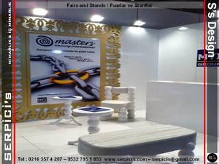 SERPİCİ's Mimarlık ve İç Mimarlık Architecture and INTERIOR DESIGN Event Venue Modern Kayu White