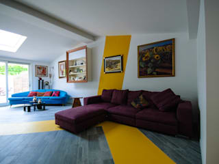 Modern living room by Architetto Francesco Franchini Modern
