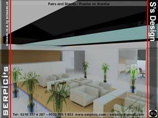SERPİCİ's Mimarlık ve İç Mimarlık Architecture and INTERIOR DESIGN Event Venue Modern Kaca Transparent