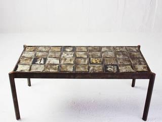 Table Basse circa 1950 Ceramique Mado Jolain:  de style  par Perlapatrame
