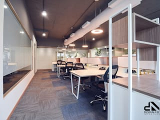 Chic interior for your office by Design Arc Interiors Interior Design Company
