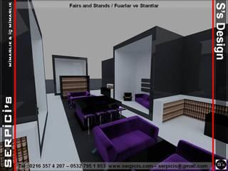 SERPİCİ's Mimarlık ve İç Mimarlık Architecture and INTERIOR DESIGN Event Venue Modern Kayu Multicolored
