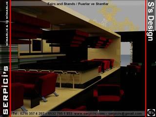 SERPİCİ's Mimarlık ve İç Mimarlık Architecture and INTERIOR DESIGN Sedi per eventi in stile classico Legno Ambra/Oro