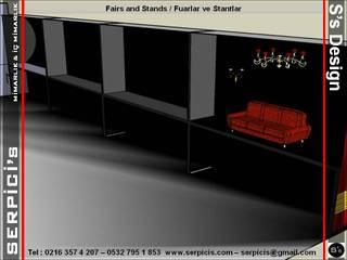 SERPİCİ's Mimarlık ve İç Mimarlık Architecture and INTERIOR DESIGN Event Venue Modern