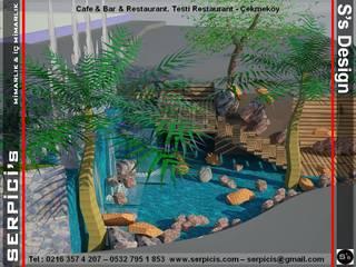 SERPİCİ's Mimarlık ve İç Mimarlık Architecture and INTERIOR DESIGN Gastronomi Modern Batu Multicolored