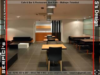SERPİCİ's Mimarlık ve İç Mimarlık Architecture and INTERIOR DESIGN Gastronomi Modern Keramik Metallic/Silver
