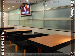 SERPİCİ's Mimarlık ve İç Mimarlık Architecture and INTERIOR DESIGN Gastronomi Modern Granit Transparent
