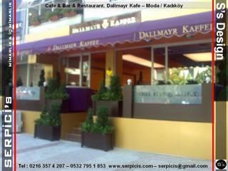SERPİCİ's Mimarlık ve İç Mimarlık Architecture and INTERIOR DESIGN Gastronomi Gaya Rustic Kayu Purple/Violet