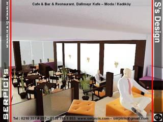 SERPİCİ's Mimarlık ve İç Mimarlık Architecture and INTERIOR DESIGN Gastronomia in stile rustico Legno Effetto legno