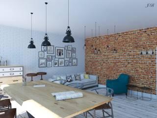 Мастерская для творческих людей: Офисные помещения в . Автор – Юлия Буракова, Лофт