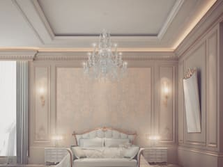 Extravagant yet pleasingly simple and elegant Bedroom Design IONS DESIGN Classic style bedroom Wood Beige