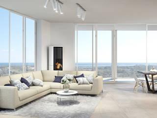 Modern Oturma Odası DMC Real Render Modern