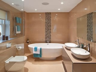 Phòng tắm phong cách hiện đại bởi Ristrutturazione Bagno Milano Hiện đại