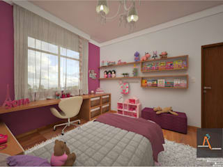 Modern Kid's Room by Ao Cubo Arquitetura e Interiores Modern