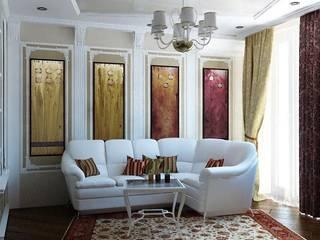 Квартира - гостиная: Гостиная в . Автор – Первое Дизайн-Бюро,