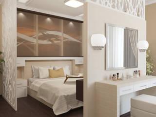 Коттедж - спальная: Спальни в . Автор – Первое Дизайн-Бюро,