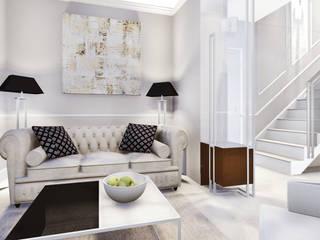 apartment by KOKON zespół architektoniczny Eclectic