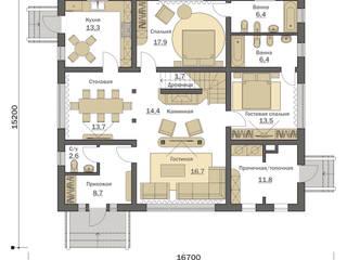 Загородный дом Шварцвальд Дома в эклектичном стиле от Fusion House Эклектичный