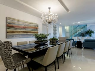 Classic style dining room by JANAINA NAVES - Design & Arquitetura Classic