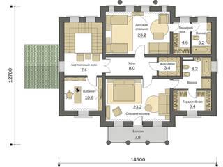 Вилла Русская классика Дома в классическом стиле от Fusion House Классический