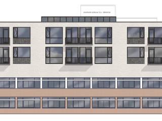 Opbouw startersappartementen:   door Margreet van der Hoeven Architecten