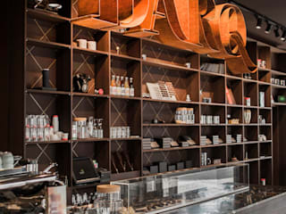 ​Het nieuwe interieur van Darq - The Chocolate Experience. Moderne gastronomie van INTER/ALTER interior architects Modern