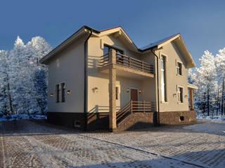 Irina Derbeneva Casas de estilo minimalista