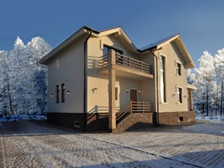 Irina Derbeneva Minimalist houses