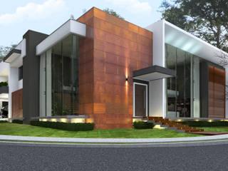 Modern Houses by BIJOS ARQUITETURA Modern