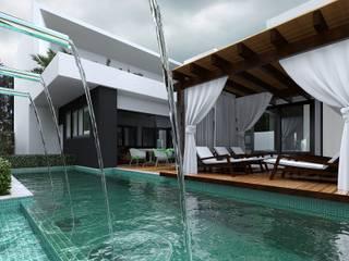 Rumah Modern Oleh BIJOS ARQUITETURA Modern